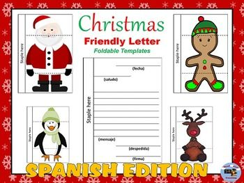 Spanish Christmas Characters Letter Writing Spanish Resources