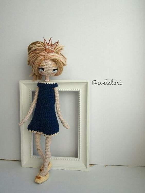 Muñeca Amigurumi Articulada   CROCHETS   Pinterest   Crochet dolls ...