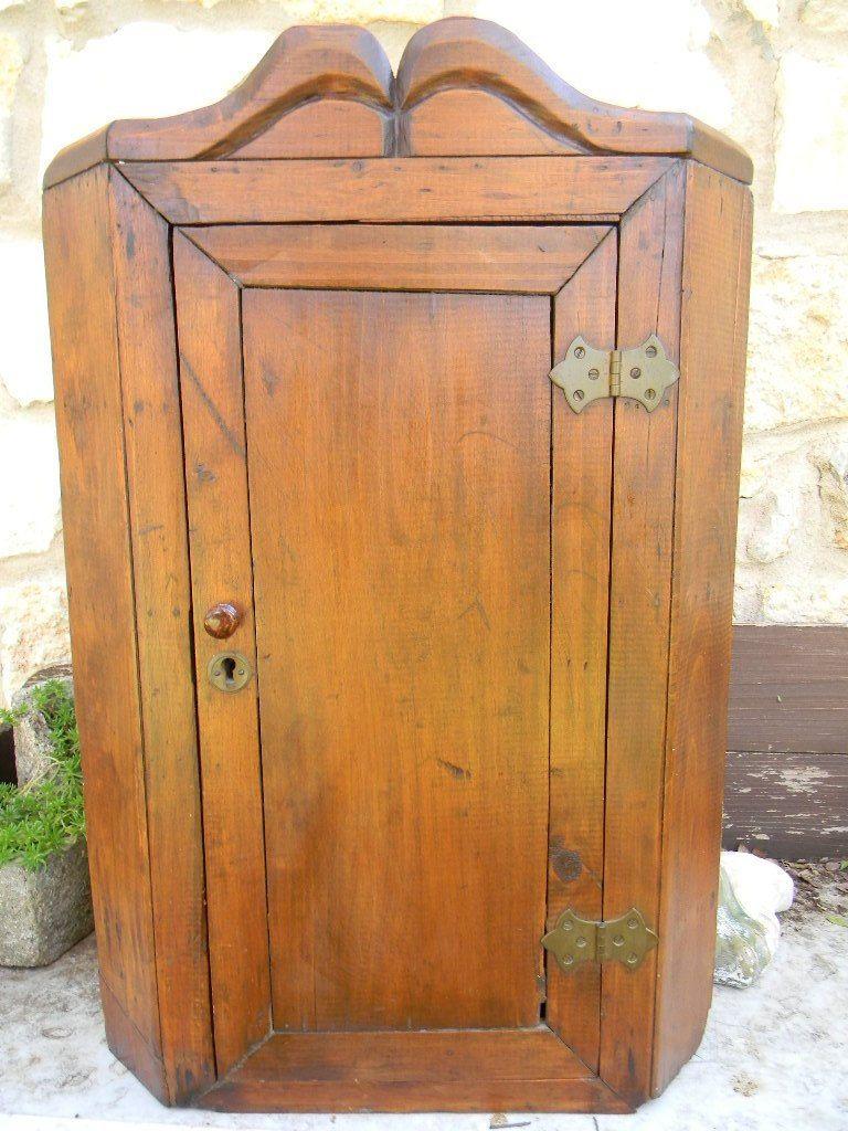 Antique Pine Corner Cupboard Cabinet Hanging Antiques And - Pine Corner Cupboard Antique - Best 2000+ Antique Decor Ideas