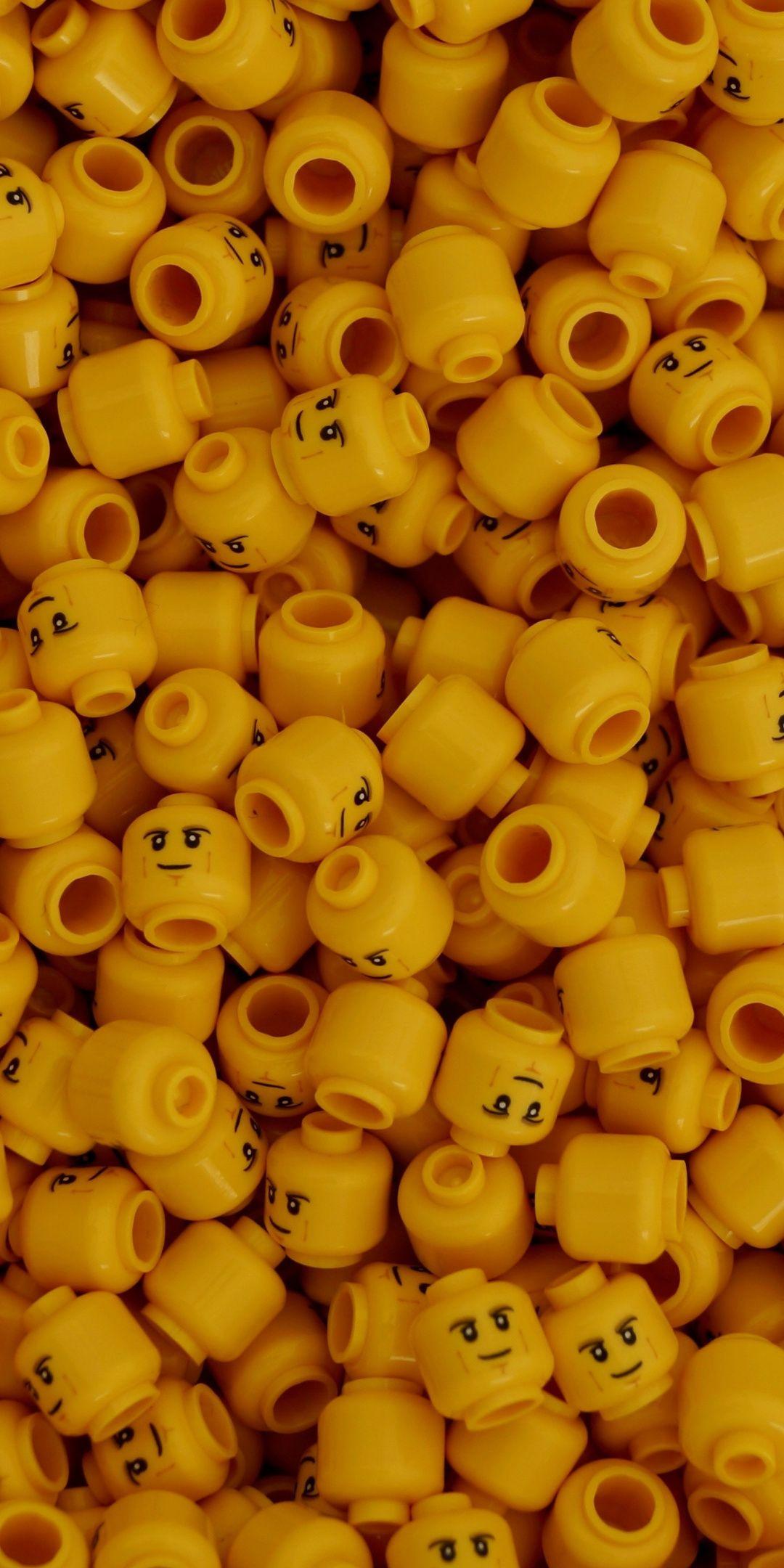 Yellow, Lego, toy, 1080x2160 wallpaper