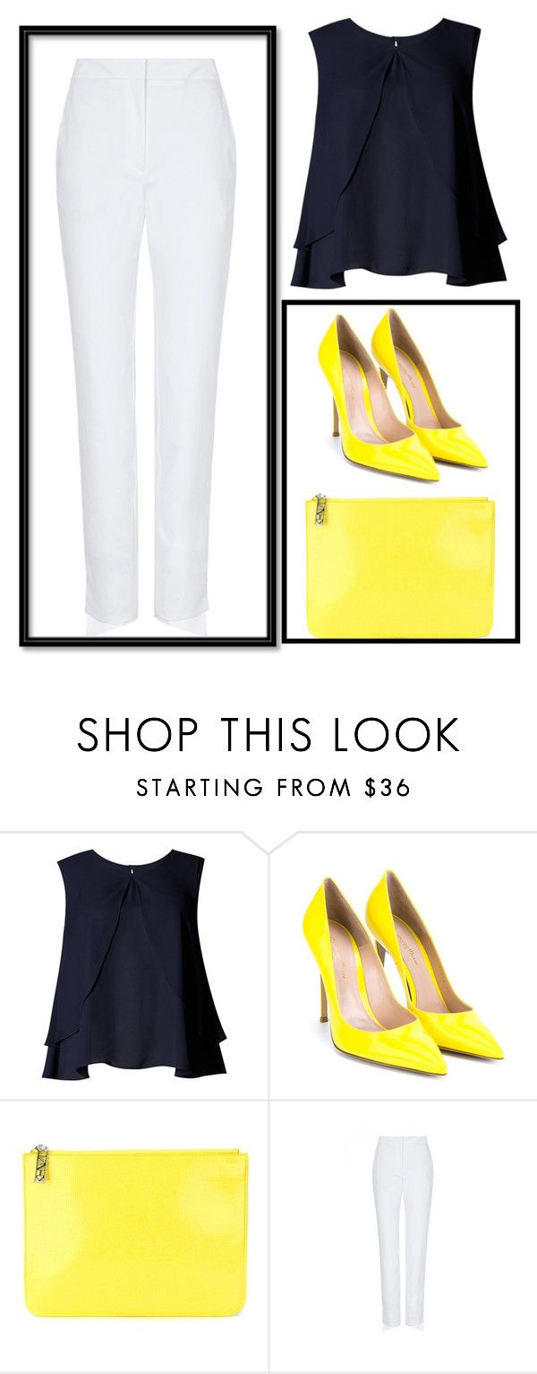"""Untitled #248"" by maya-lm ❤ liked on Polyvore featuring Limited Edition, Gianvito Rossi, Kenzo, sass & bide, women's clothing, women, female, woman, misses and juniors"