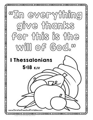 Thanksgiving crafts and printables to enhance your i am for Thanksgiving sunday school coloring pages