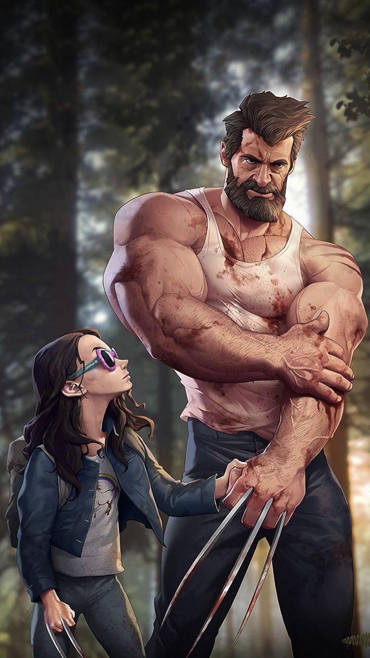 Wolverine Superstar Heroarts Logan Wallpaper Wallpaperiphone