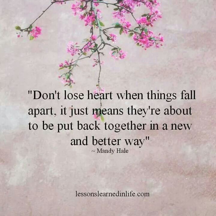 Image result for don't lose heart quotes