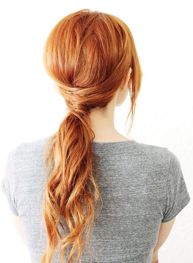 Easy Quick Hairstyles Adorable 8 Quick And Easy Hairstyles No Heat Required  Hair Ties And Ponytail