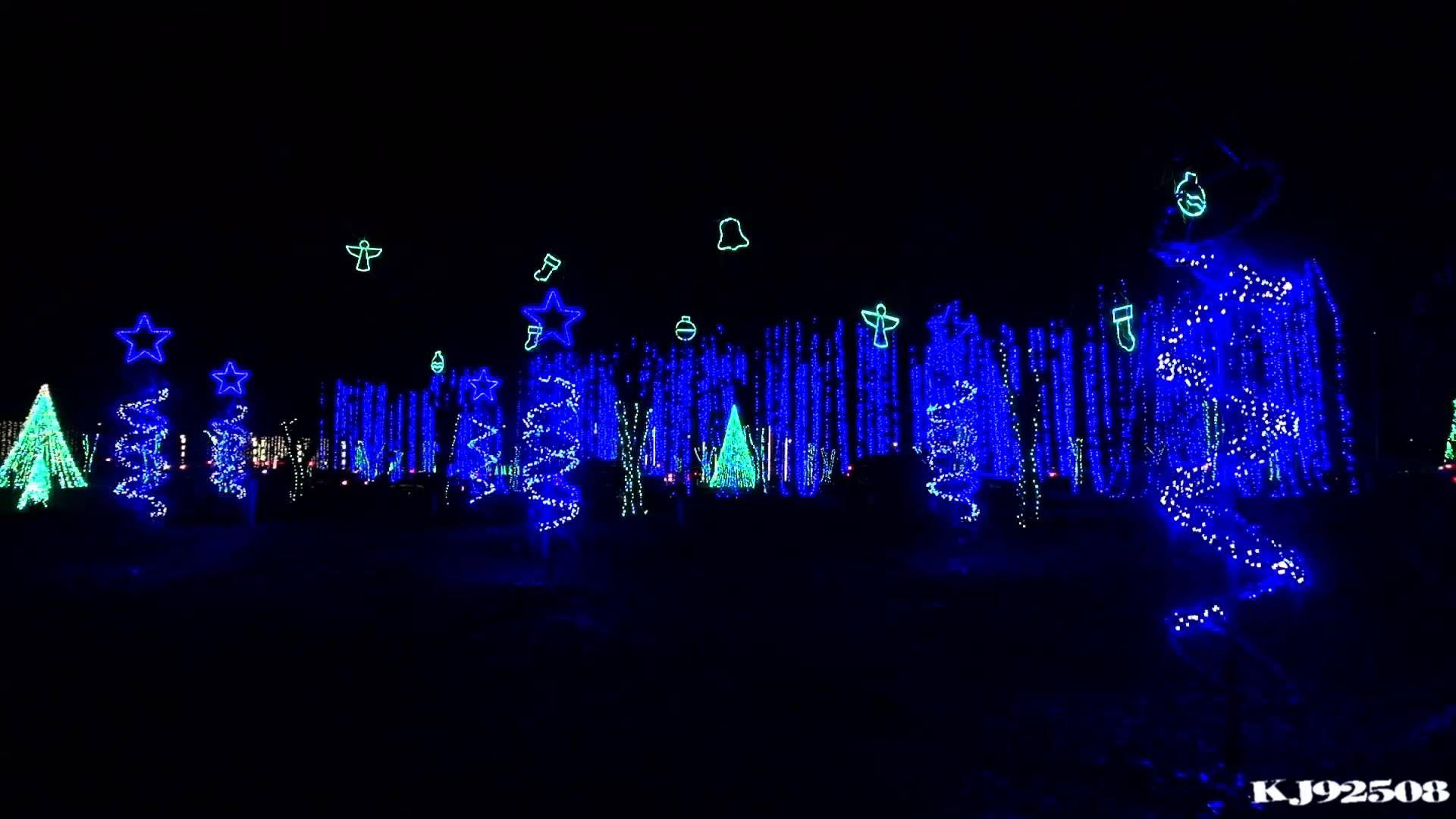 Christmas Light Show 2013 - Winter Wonderland (Nashville, TN ...