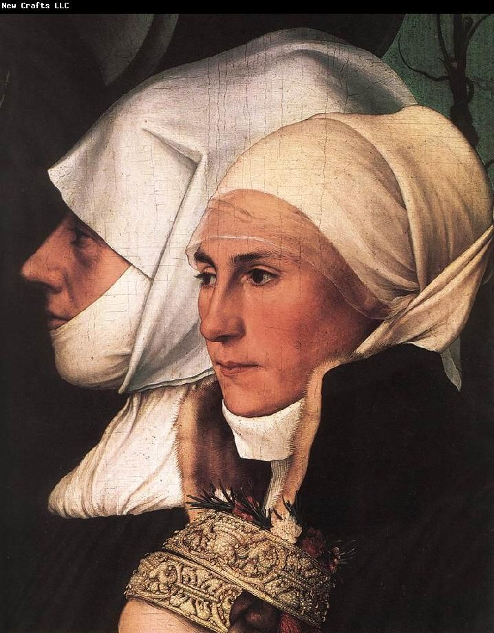 'Darmstadt Madonna'  HOLBEIN, Hans the Younger (1497-1543)
