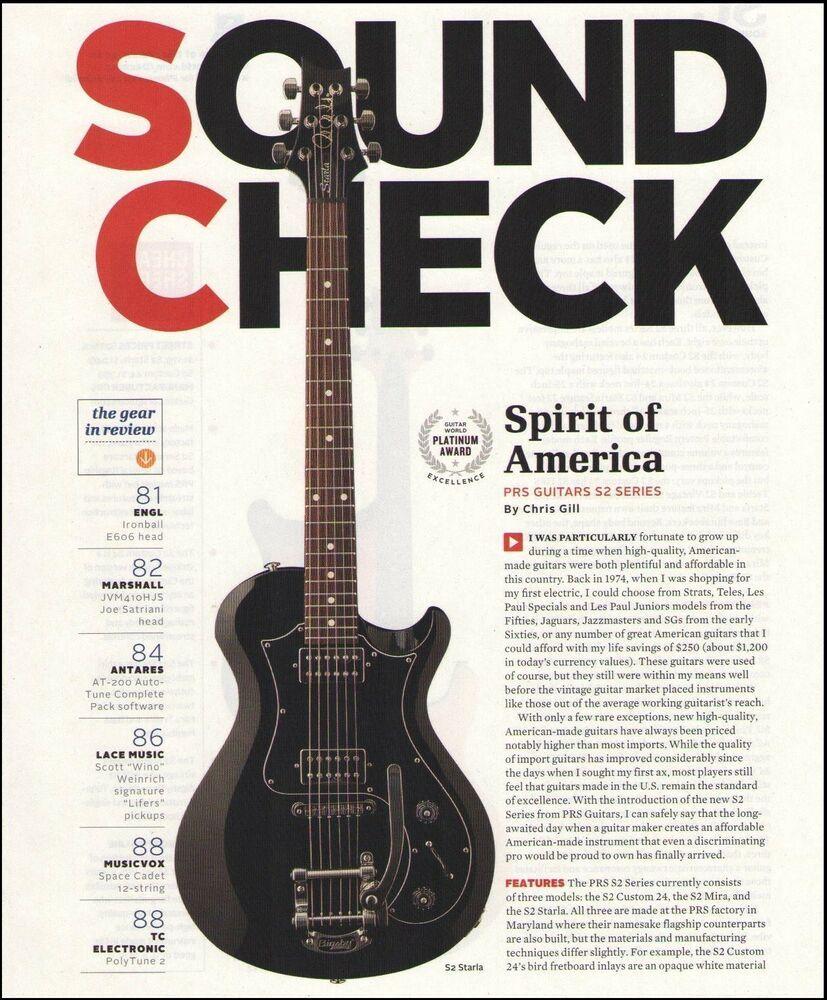 Pin On Prs Guitars Advertisement Ad Print