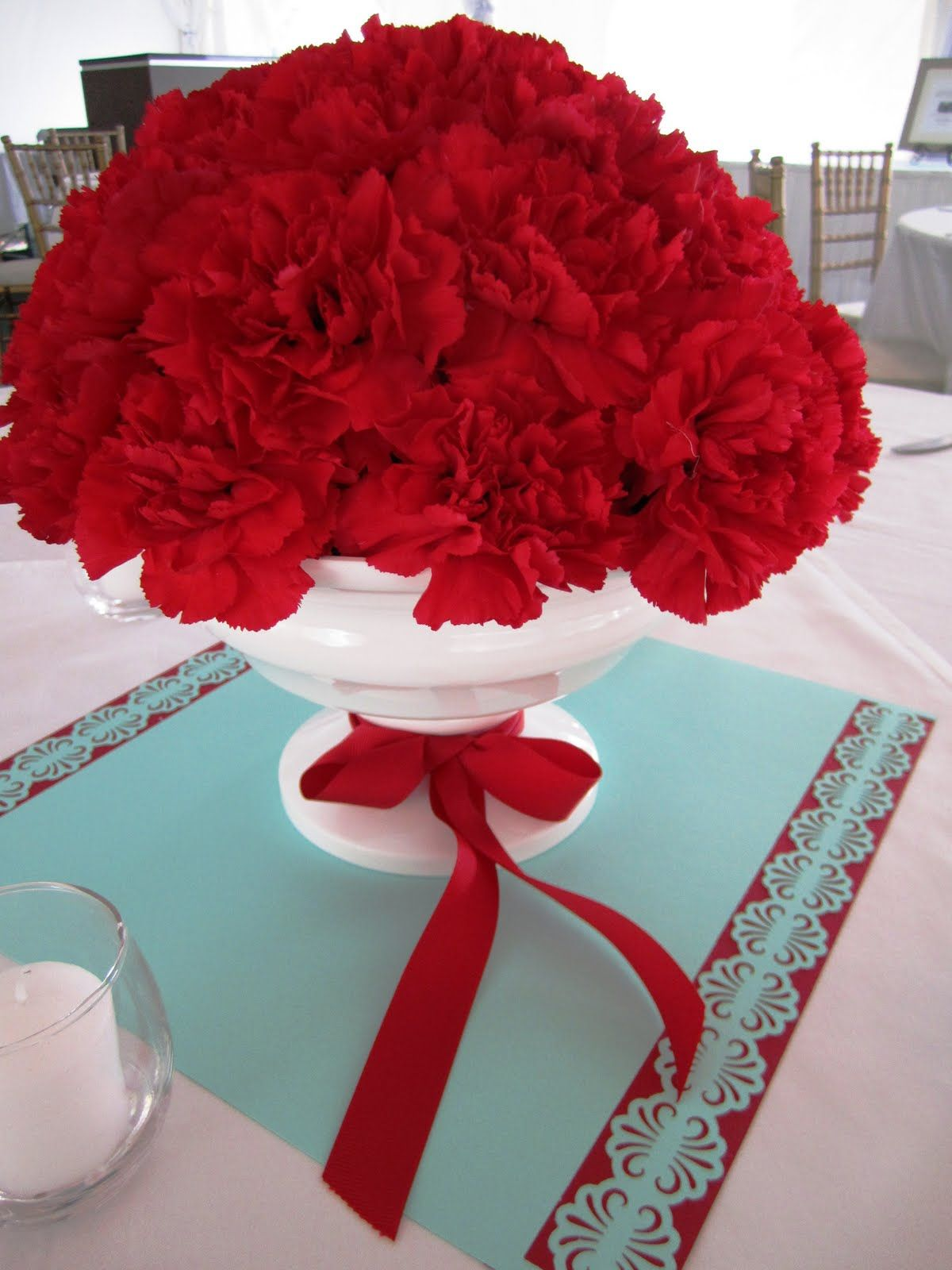 Red Wedding Centerpieces French Floral Event Design