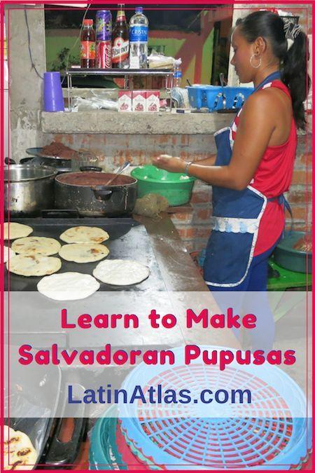 Learn how to make El Salvador's staple cuisine, pupusas.