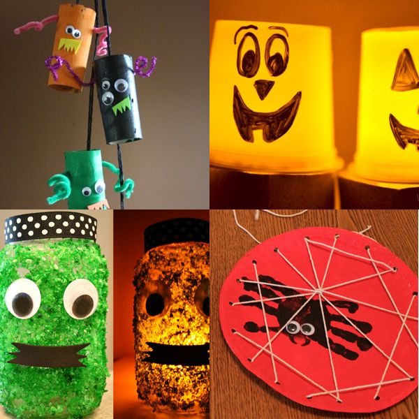 Halloween Crafts for Kids Diy decoration, Decoration and Dollar stores - halloween crafts decorations