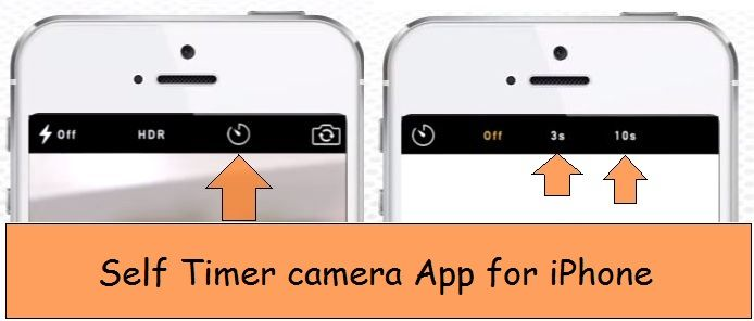 Best self timer camera iOS app iPhone, iPad, iPod Touch