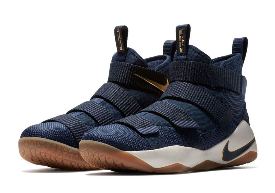 """1eaf8d5d6cd  sneakers  news A Cavs """"Alternate"""" Colorway Arrives On The Nike LeBron  Soldier 11"""