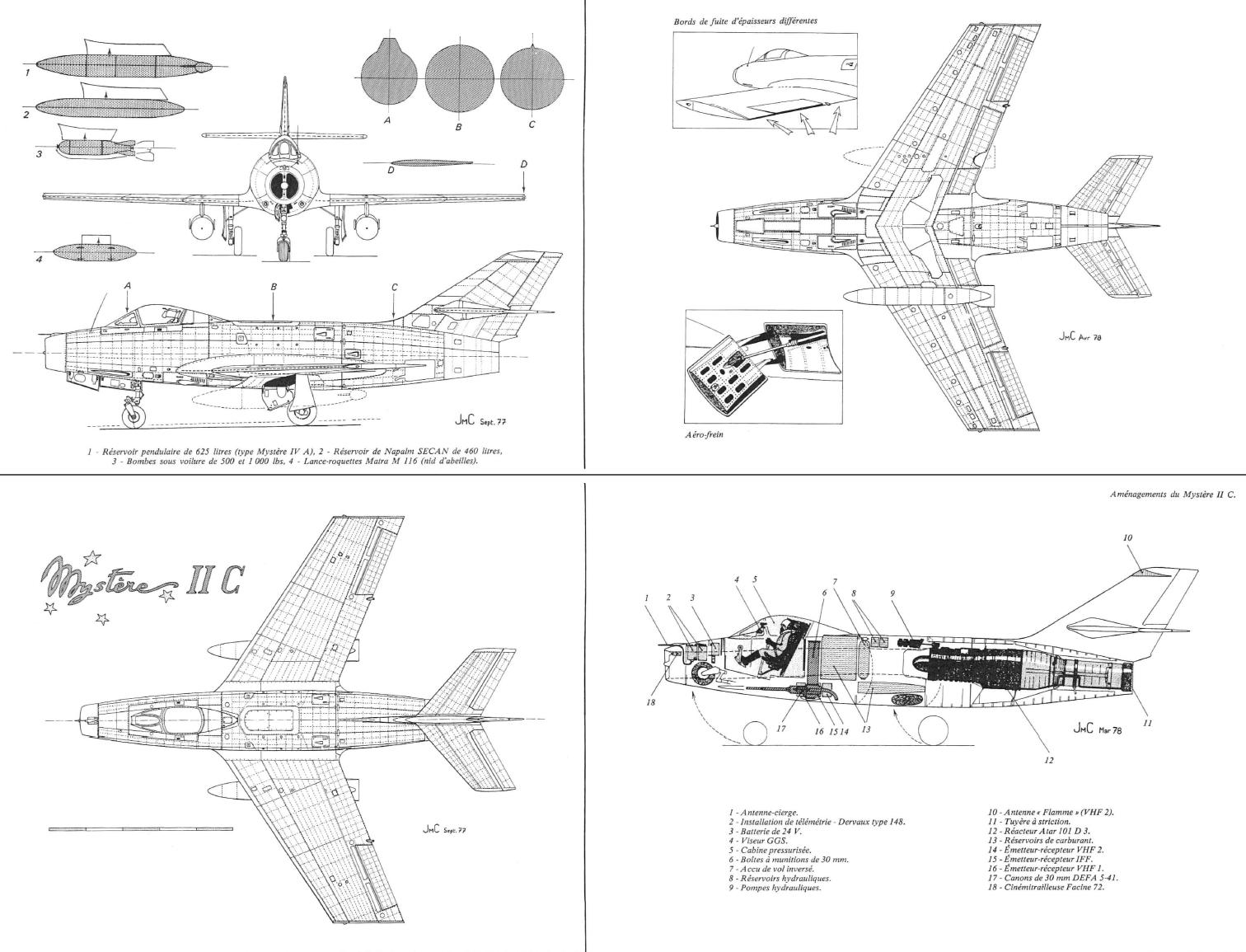 md 452 mystere ii planes dassault md 452 myst re ii aviation rh pinterest com