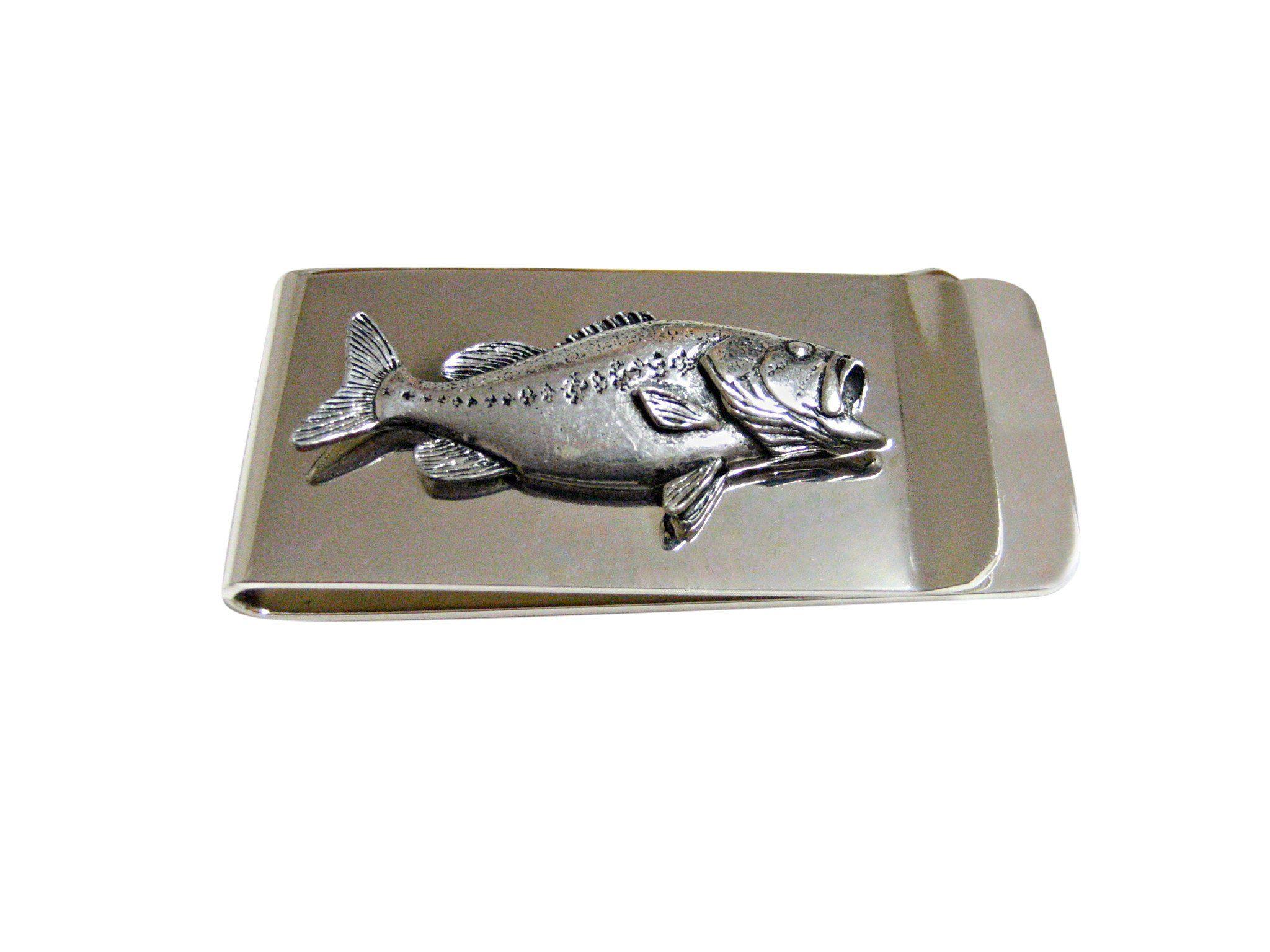 Bass fish money clip money clip money bass fishing