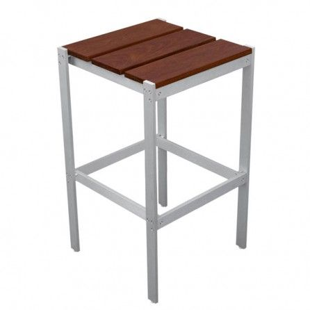 Luma Bar Stool No Back Modern Outdoor Patio Modern Bar Stools