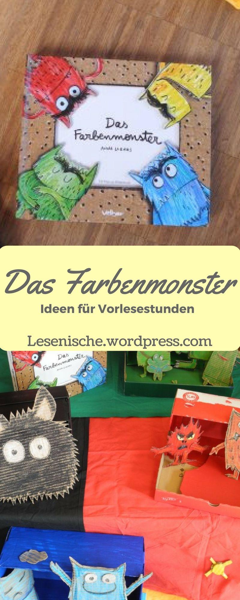 Das Farbenmonster - Vorleseideen.jpg | Basteln Kinder | Pinterest ...