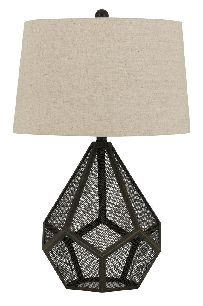 Geometric wire mesh metal table lamp drum lampshade 31h rebecca geometric wire mesh metal table lamp drum lampshade 31h keyboard keysfo Image collections