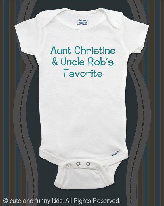 Aunt uncles favorite custom baby onesie by cuteandfunnykids aunt uncles favorite custom baby onesie by cuteandfunnykids negle Choice Image