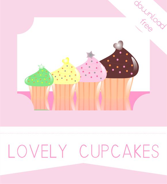 Colección Lovely Cupcakes. Descarga gratuita. Formato PNG con fondo transparente. Libre de derechos.
