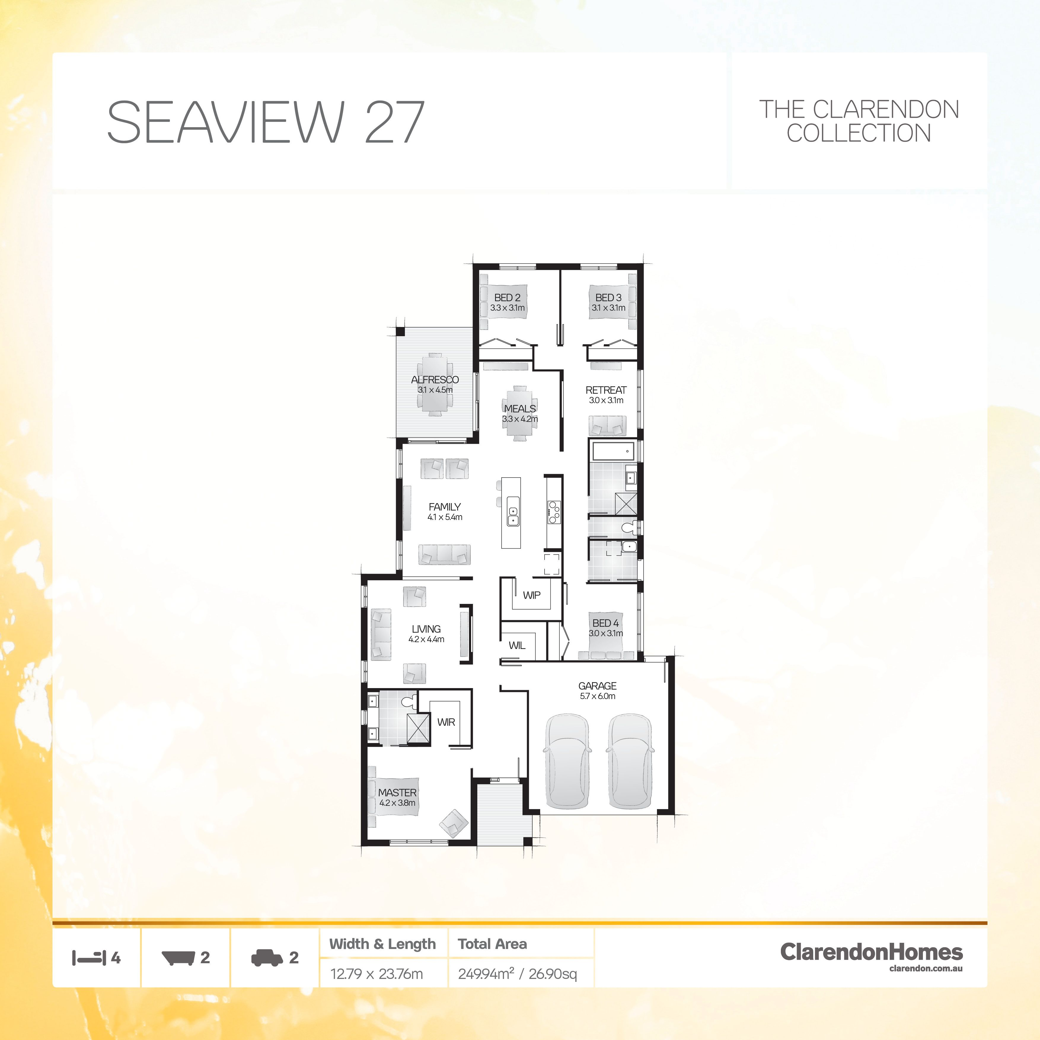 Clarendon Homes. Seaview 27. Embark on life\'s journey in style and ...