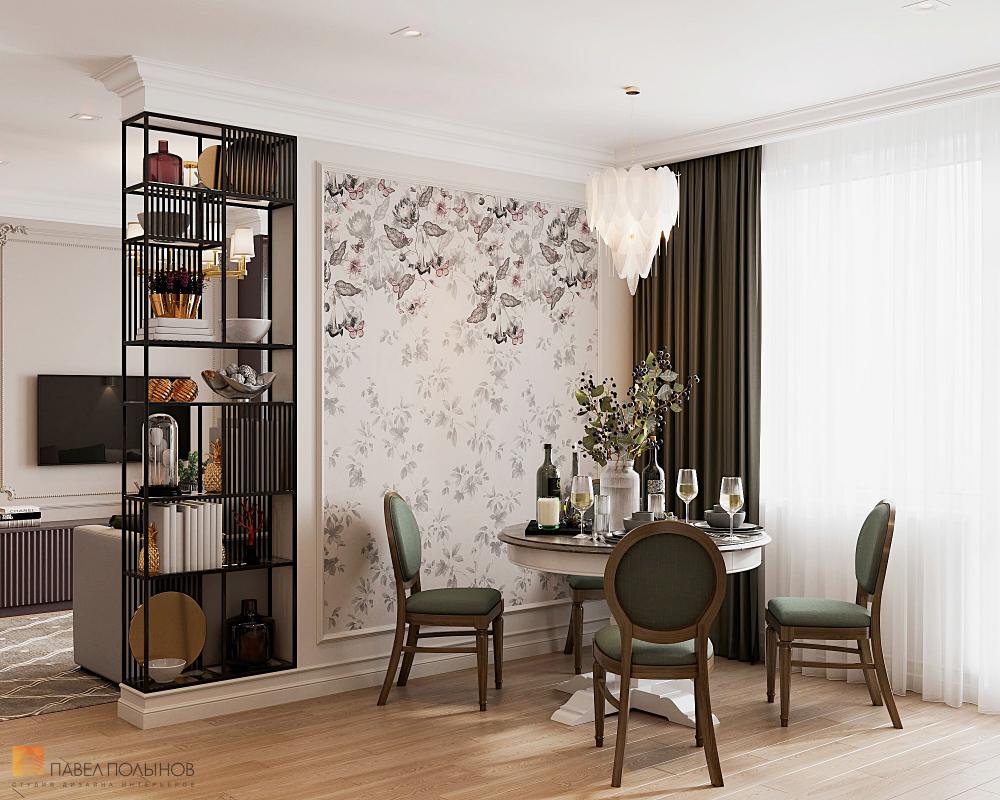 Фото дизайн интерьера кухни-гостиной из проекта «Квартира ...