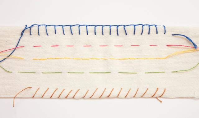 Aprende A Coser Ii Puntos Básicos De Costura A Mano Costura A Mano Como Aprender A Bordar Aprender A Coser