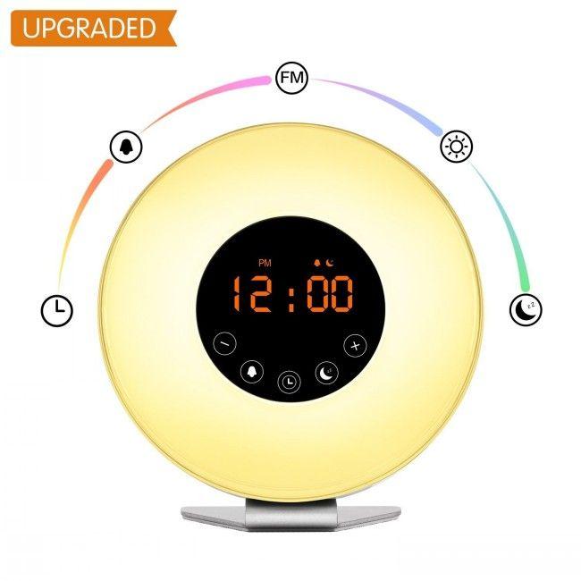 Time To Source Smarter Alarm Clock Sunrise Alarm Clock Clock