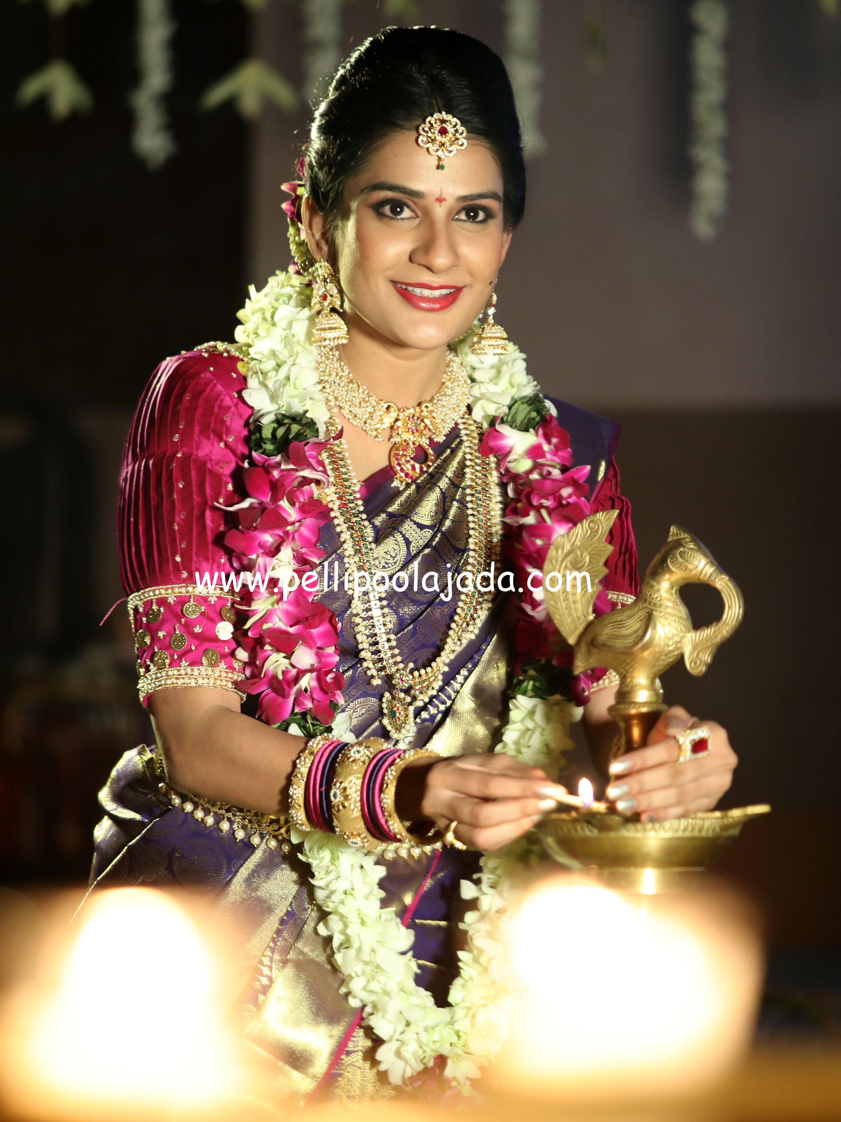 Orchid Garland Varmala For Telugu Bride Accessories By Texas Branch Telugu Wedding Indian Wedding Garland Indian Wedding