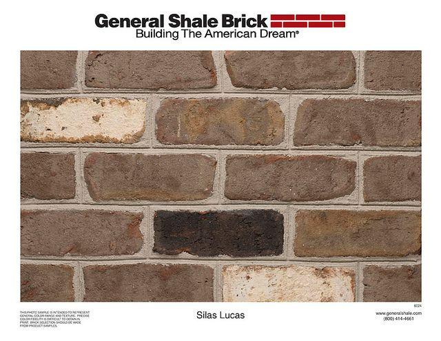 Brick Silas Lucas Brick Thin Brick Shale