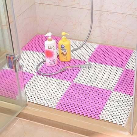 Girl12queen Plastic Drain Holes Non Slip Bathroom Toilet Kitchen