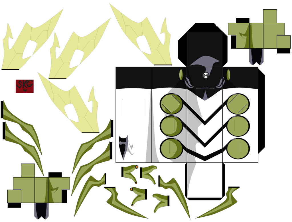 Stinkfly by superkamiguru5 on deviantart toys paper craft 3d stinkfly ben 10 mold by changed the mold because i didnt like how the other one looked voltagebd Image collections