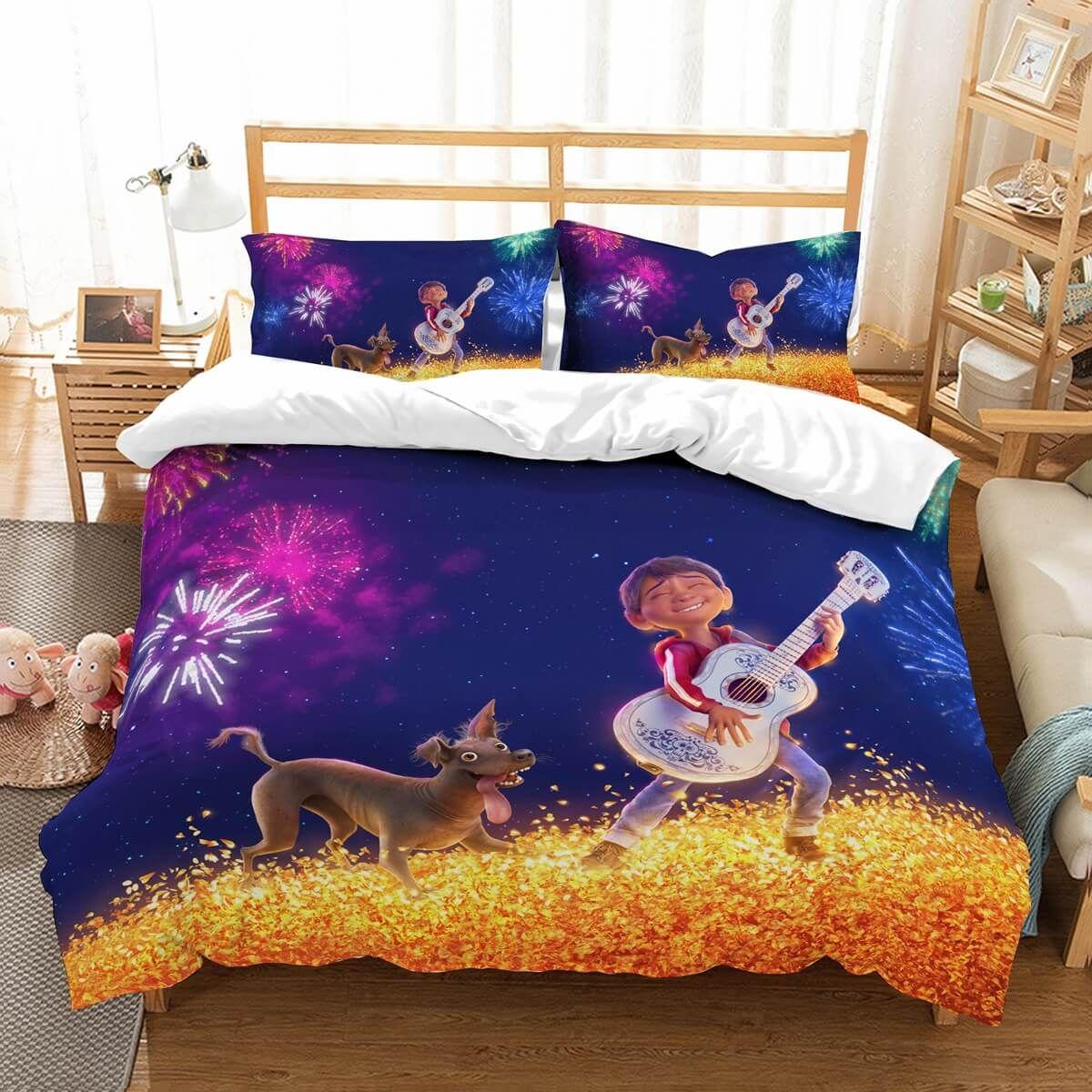 uk availability d5169 49ea0 3D Customize Coco Bedding Set Duvet Cover Set Bedroom Set ...