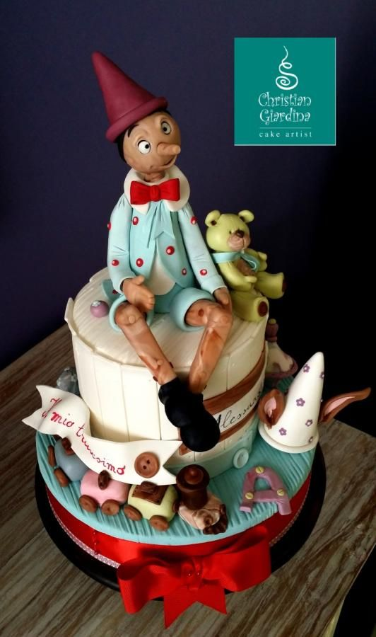 """Pinocchio, an Italian puppet"""