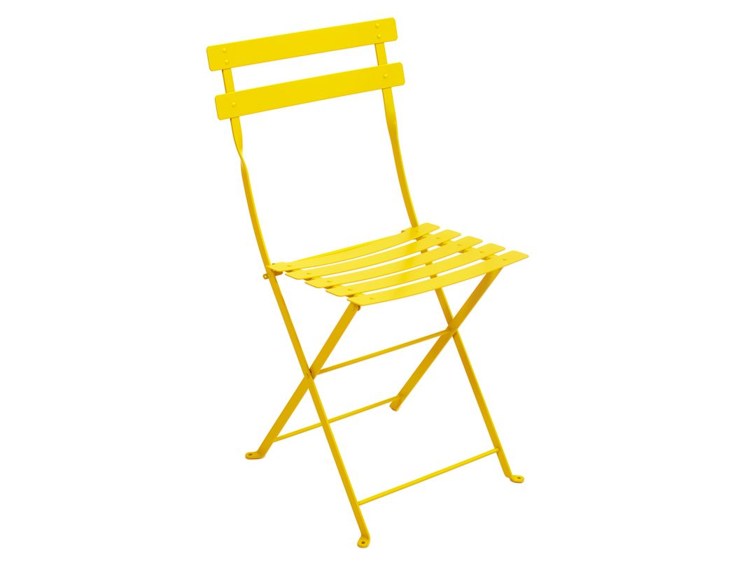 Folding Metal Bistro Chair American Country