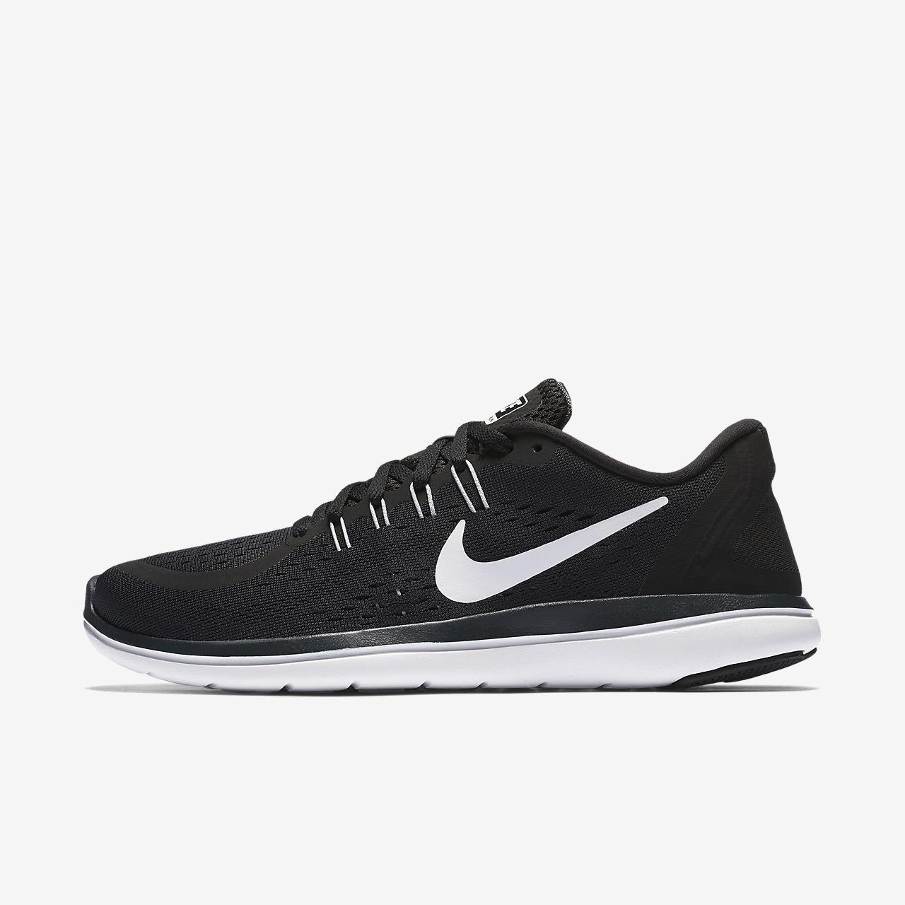 7f959de8bf7c Nike Flex 2017 RN Women s Running Shoe in Black White