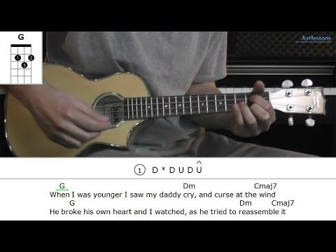 How To Play The Only Exception By Paramore Ukulele Ukulele
