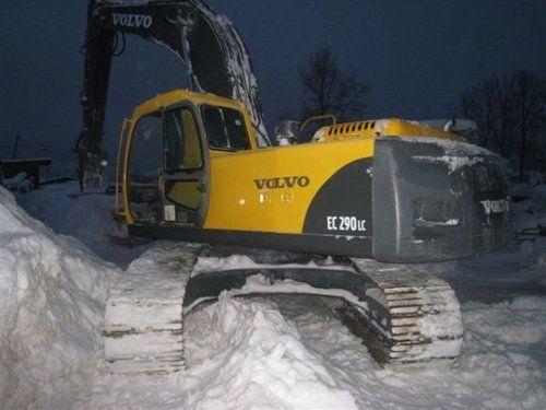 caterpillar volvo ec290lc hydraulic excavator service repair manual rh pinterest com Volvo Excavator Toy Volvo Mini Excavator