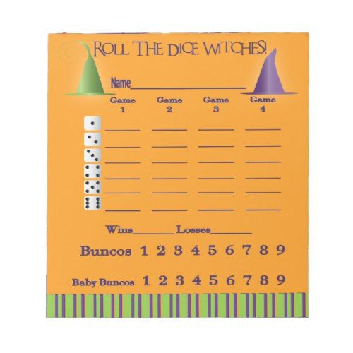 Bunco Score Pad \u003d Halloween 2017 Halloween Ideas Pinterest - sample football score sheet