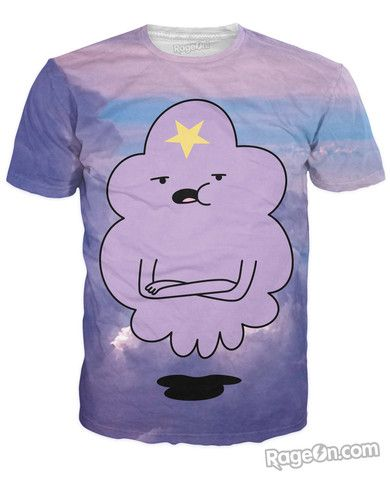 Lumpy Space Princess T-Shirt - Rage On! - The World's Largest All-Over-Print Online Store