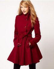 ASOS Fashion Finder | Ribbon Bow Dolly Coat