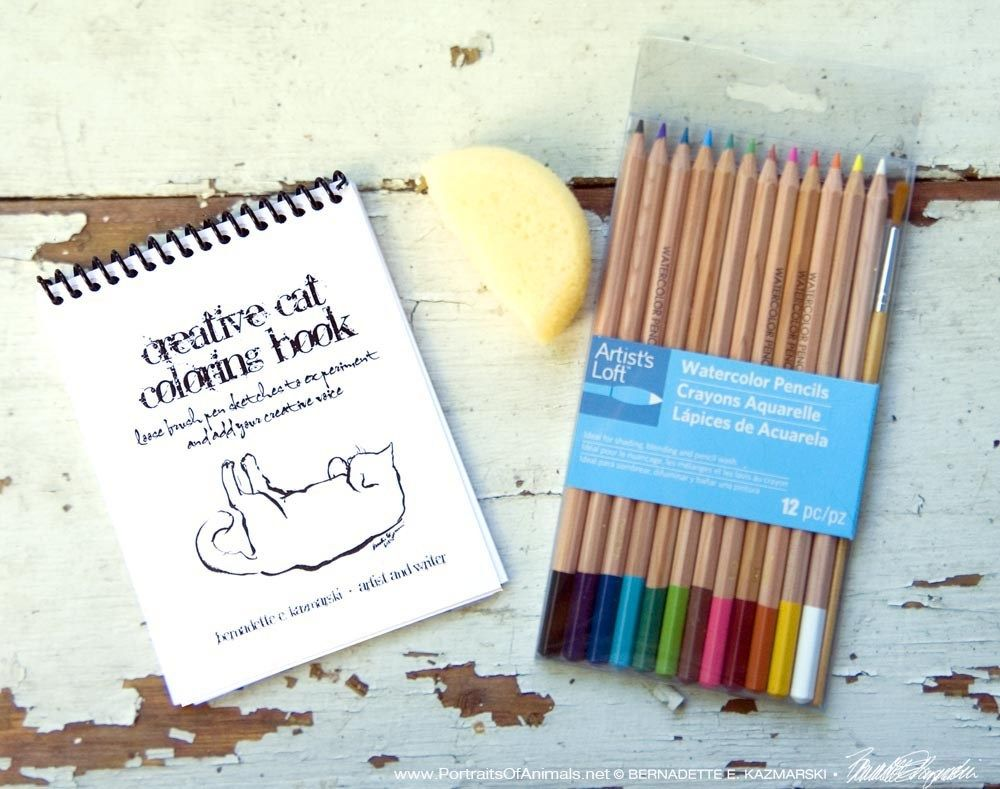 Color any way you want with the creative cat coloring book feline