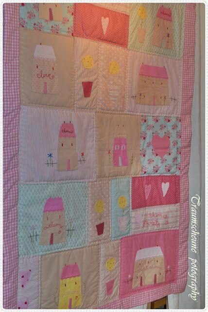 tilda house quilt | Sewing | Pinterest | Nähen, Babysachen und ...