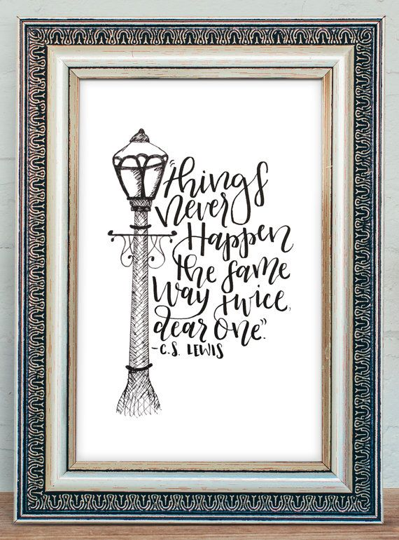 Instant Download - Narnia Quote Instant Download Printable - Things ...
