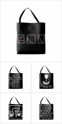 Tote bags Black edition