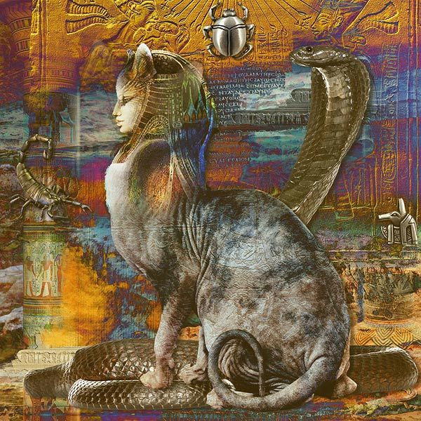 legends egyptian cat god - photo #10