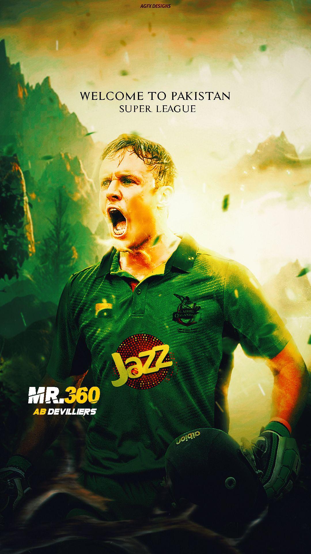 Ab De Villiers Pakistan Super League Ab Mr360 Devilliers