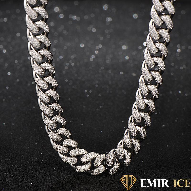bijoux homme collier or blanc