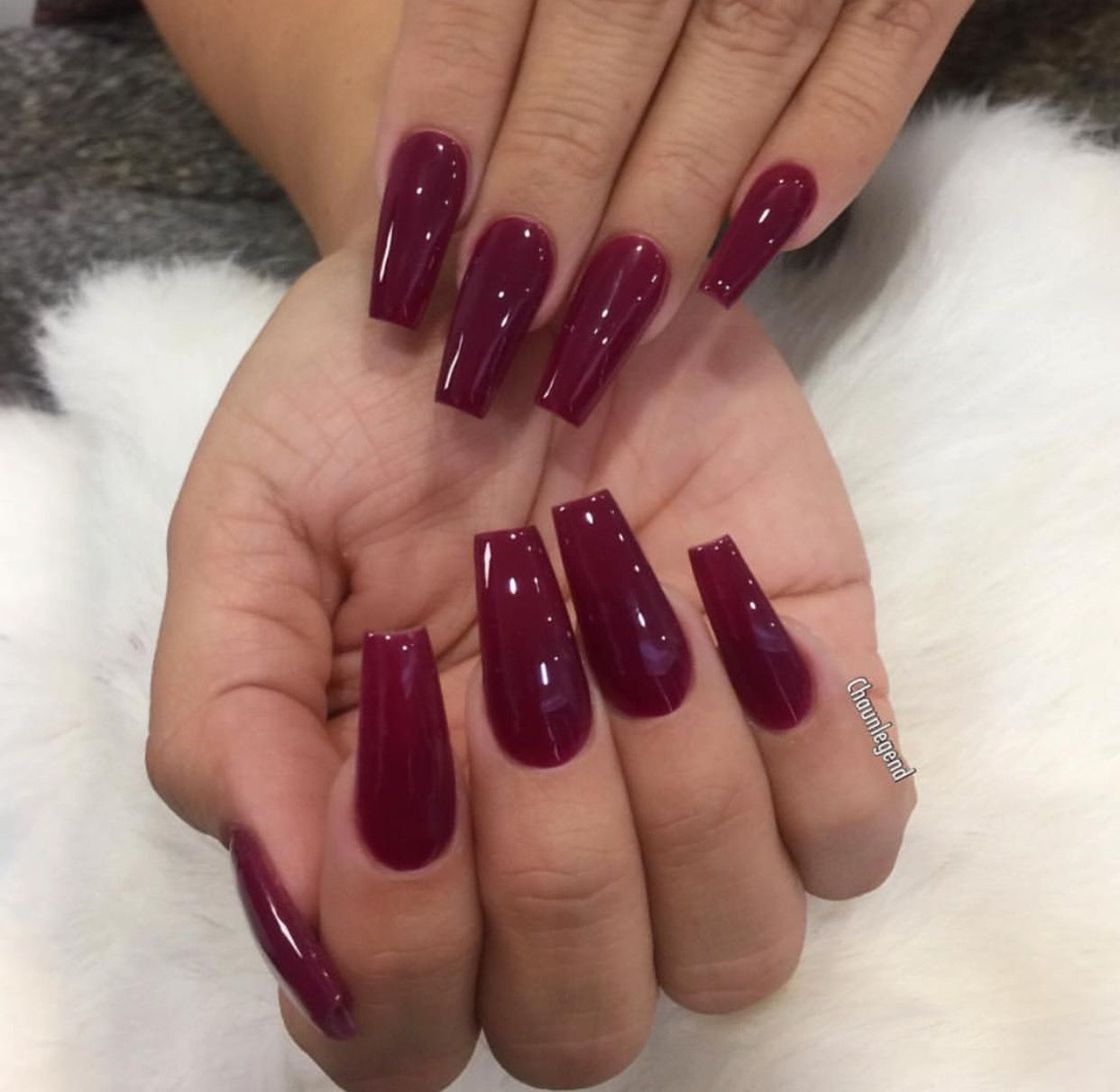 Vamp red | «»Manicures·Red«» | Pinterest | Nail inspo, Double team ...