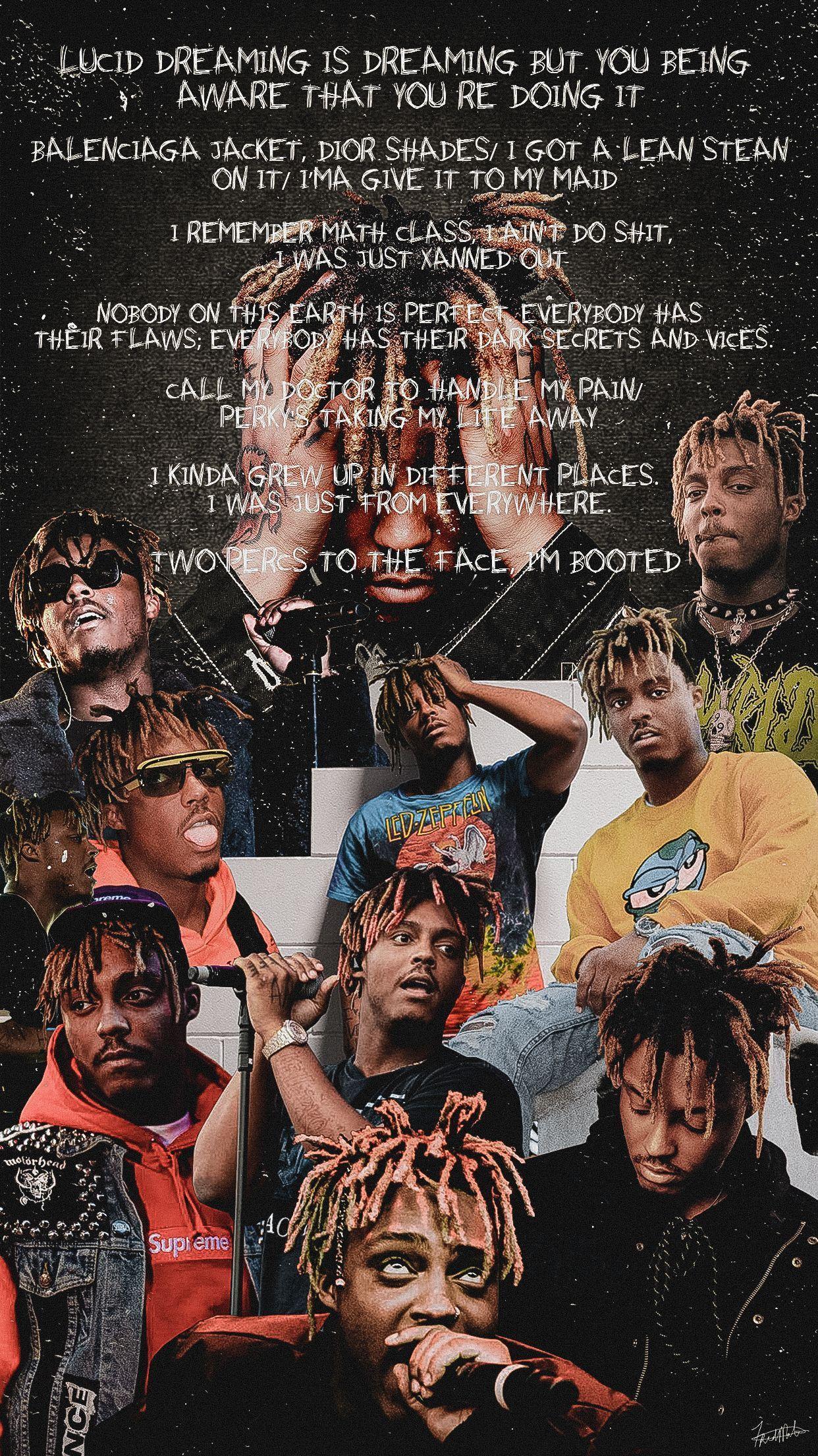 Juice Wrld Wallpaper Juicewrldwallpaperiphone Juicewrld Fashion Wallpaper Iphonewallpaper Art Juicewrldwallpa In 2020 Juice Rapper World Wallpaper Rap Wallpaper